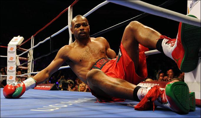 Padlón Roy Jones Jr., a világ valaha volt egyik legjobb bokszolója / Fotó: Thesun.co.uk