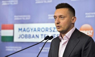 Budapest, 2014. január 14. Rogán Antal, a Fidesz frakcióvezetõje sajtótájékoztatót tart a baloldali ellenzéki pártok megállapodásával kapcsolatban, a Képviselõi Irodaházban 2014. január 14-én. MTI Fotó: Koszticsák Szilárd