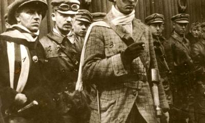 A Lenin-fiúk vezérei: 1. Cserny József, 2. Papp Sándor, 3. Radányi Kornél, 4. Nével József, 5. Natusek Szaniszló /Fotó és forrás: Wikipedia.hu