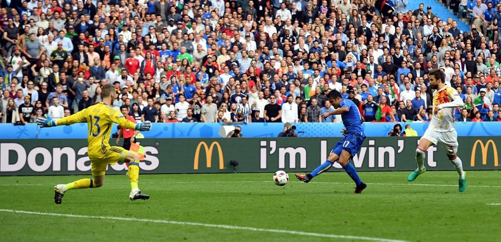 De Gean nem múlott / Fotó: UEFA.com
