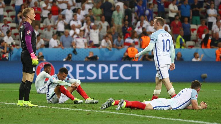 Hart áll, Rooney sétál, a többiek összerogytak / Fotó: Skysports.com