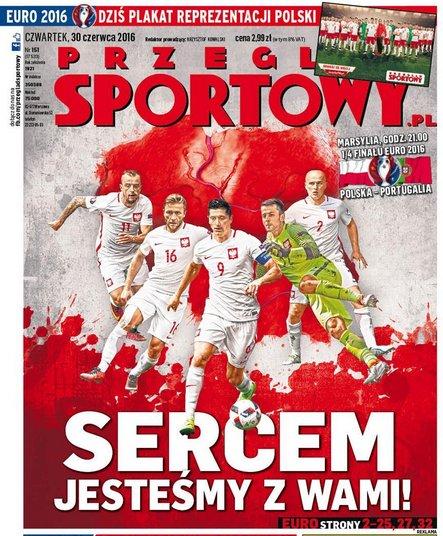 A lengyel lapok is hangoltak / Forrás: UEFA.com