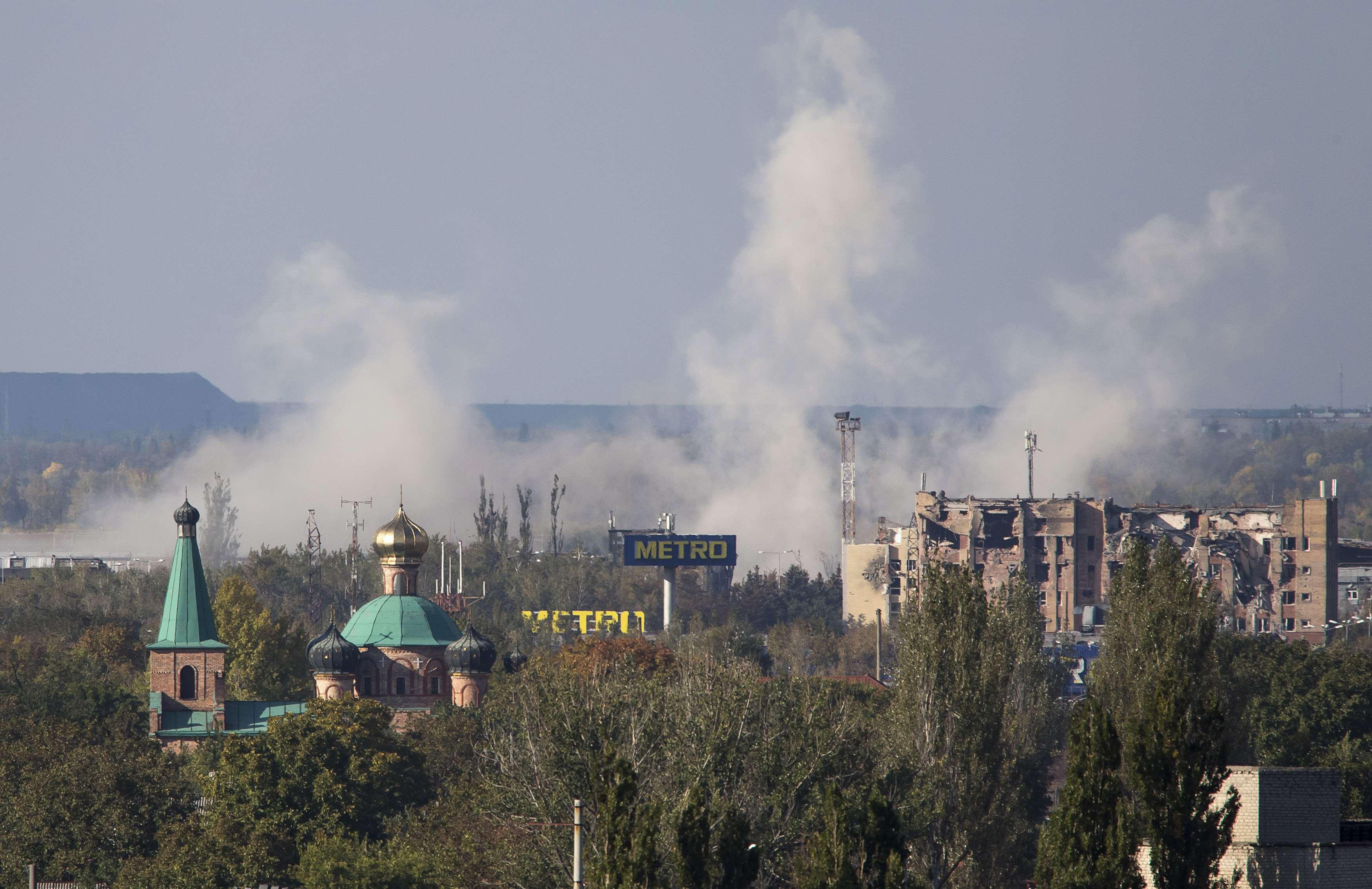 Újabb halálos áldozatok a kelet-ukrajnai harcokban