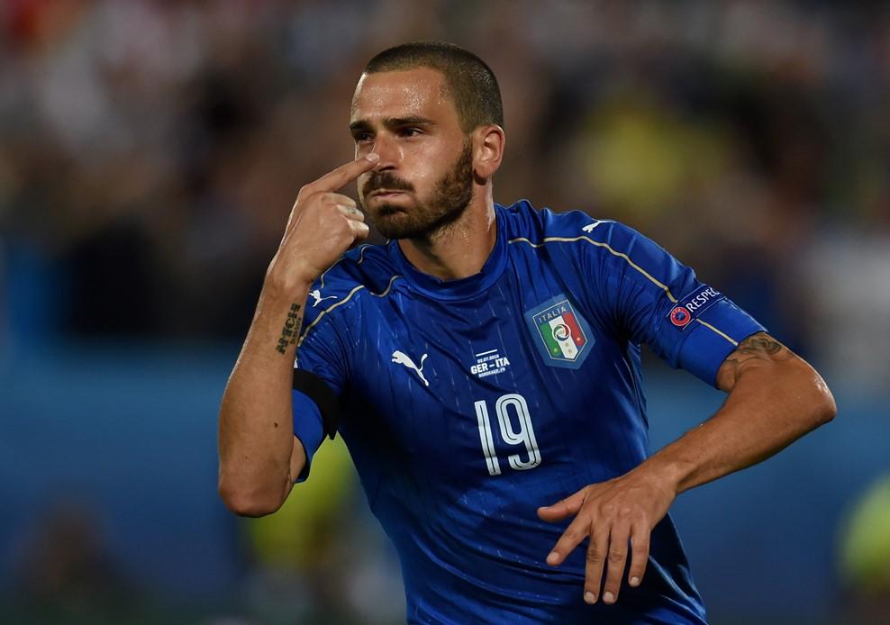 Bonucci higgadt maradt / Fotó: UEFA.com
