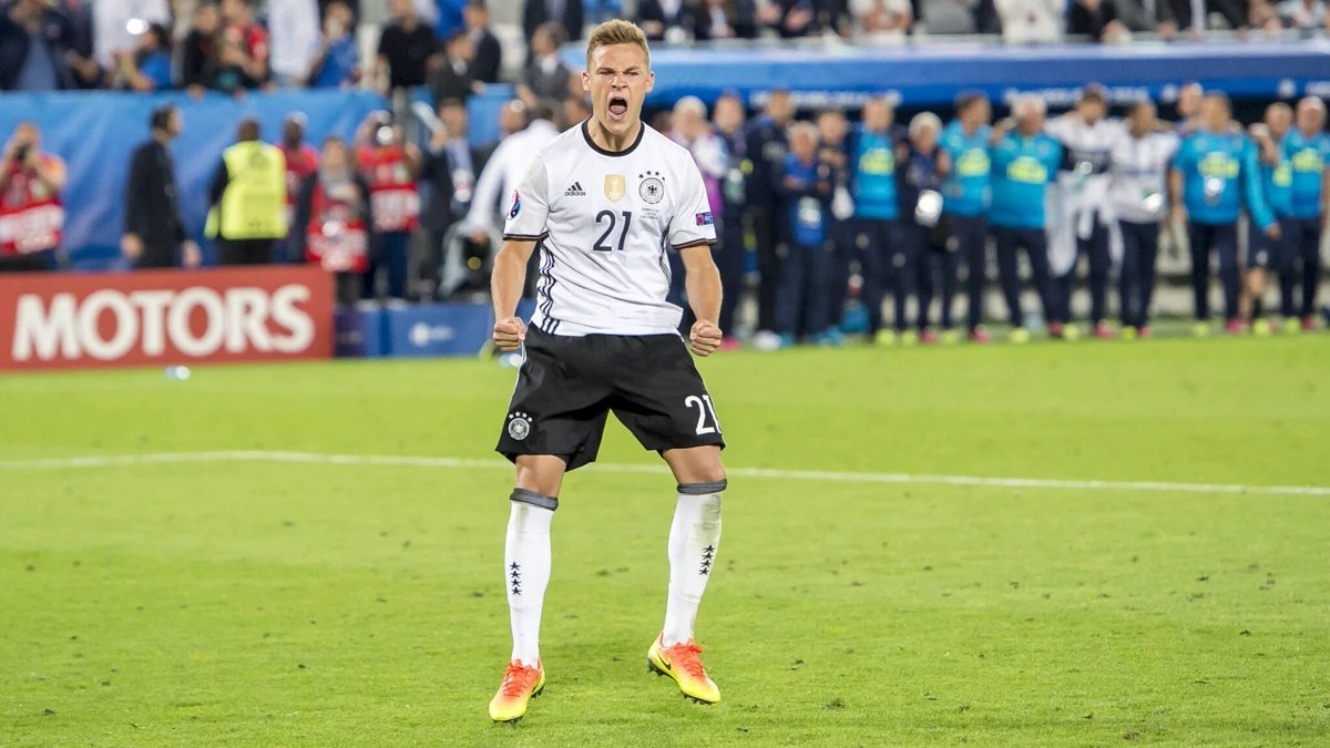 Kimmich: amikor még volt kedve ünnepelni / Fotó: UEFA.com