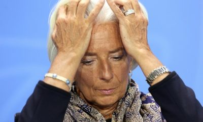 FILE - 17 December 2015: Head of IMF  Christine Lagarde is to stand trial in France for alleged negligence over a multi million payment to businessman Bernard Tapie in 2008 during her time as French Finance Minister. BERLIN, GERMANY - MAY 13:  Managing Director of the International Monetary Fund (IMF) Christine Lagarde listens at a news conference in the German federal Chancellery on May 13, 2014 in Berlin, Germany. World finance, economic and labor leaders met with the German chancellor today, after a weekend upon which she reiterated her stance on the importance of regulation of global finance markets.  (Photo by Adam Berry/Getty Images)