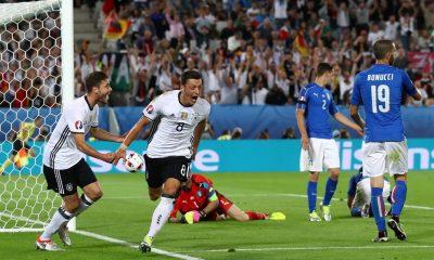 Özil öröme / Fotó: UEFA.com