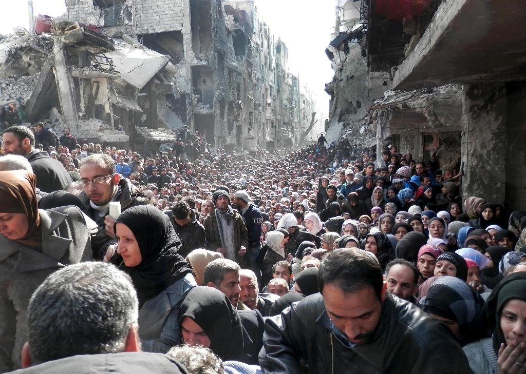 Hol lesz a sor eleje? Vajon Európának szánja Erdoğan a menekülteket? (kép: foxnews.com)