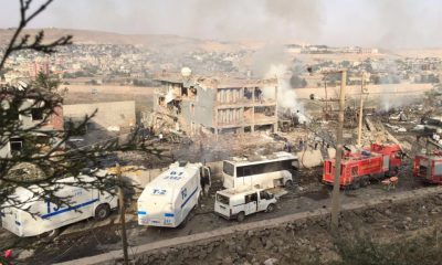 ANKARA, Turkey (AP) — Turkey's state-run news agency says Kurdish rebels have exploded a car bomb at a police checkpoint in southeast Turkey. Several people were wounded. Anadolu Agency says the attack on Friday targeted a checkpoint some 50 meters (yards) away from a police station in the town of Cizre, in Sirnak province. It said the blast caused severe damage to the police station.  26th August 2016