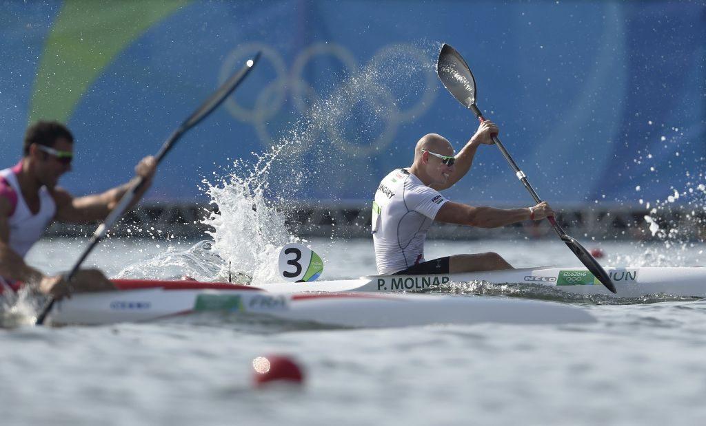 Molnár Péternek három nappal az olimpia előtt szólt a szövetség, hogy utazik Rióba... (kép: MTI / Kovács Tamás)