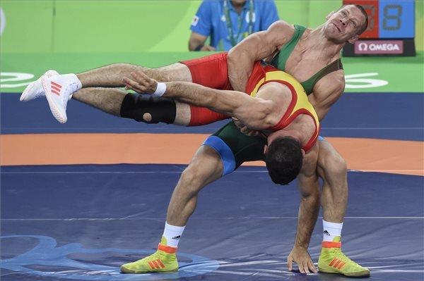 Bácsi Péter túl erős lehetett, hogy összeengedjék Vlaszovval. Még a végén esetleg megverte volna az oroszt. (kép: MTI: Kovács Tamás)