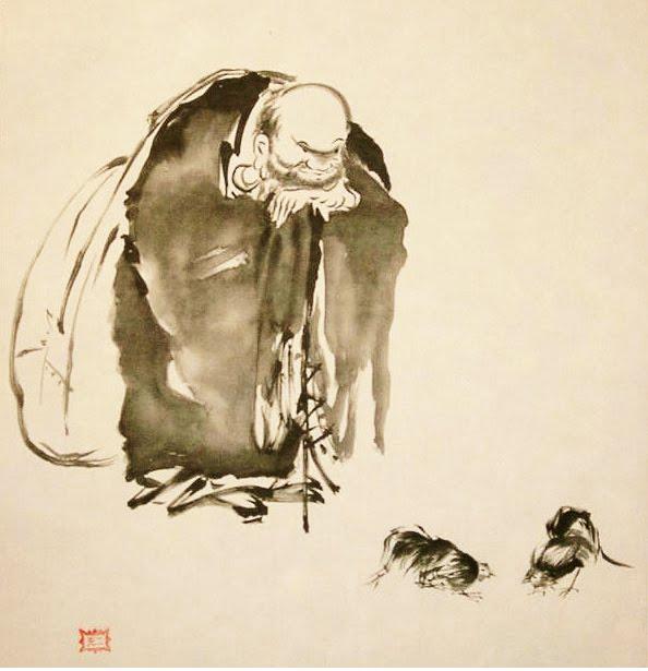 Musashi Miyamoto egyik ismert műve / Forrás: Musashi-miyamoto.com