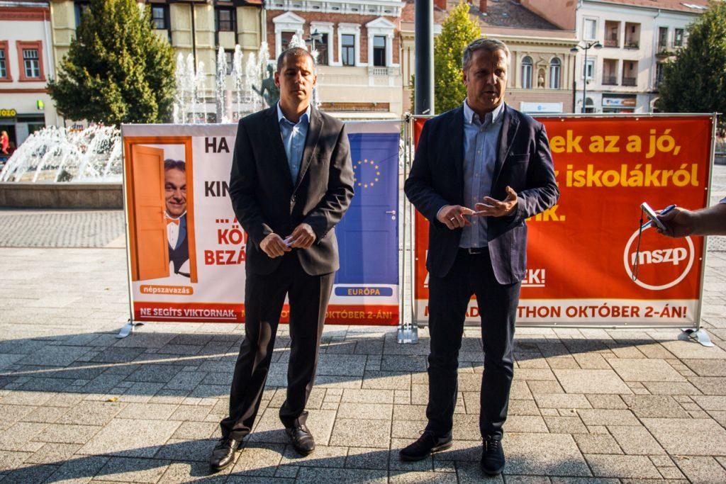 Az MSZP a népszavazástól való távolmaradásra biztat. (kép: mszp.hu)