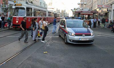 Amok Fahrt  Wien 10 Quellenstrasse
