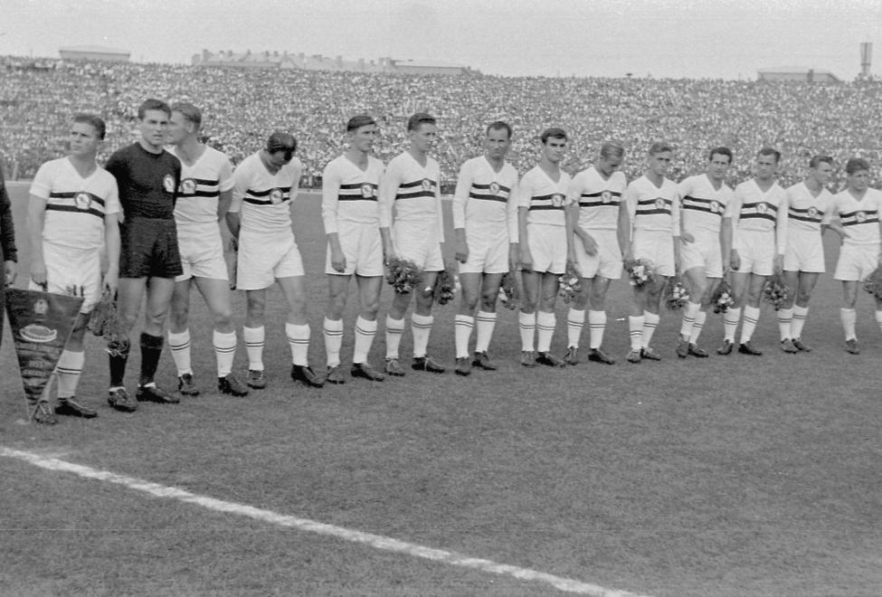 A Honvéd csapata, 1953 / Fotó: Fortepan.hu