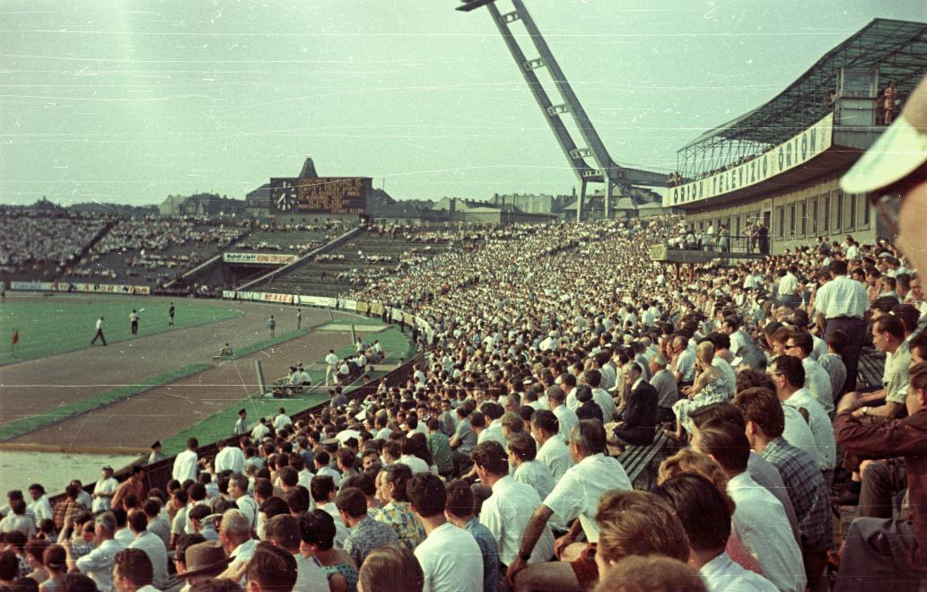Ferencváros-SZEAC, 1963 /Fotó: Fortepan.hu