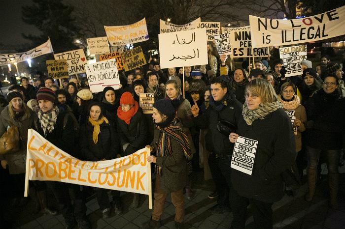 A migránsokat örömmel látják, a külhoni magyarok 2004-es megtagadása ellen viszont nem tiltakoztak; Képünk illusztráció. Fotó: 444.hu/Botos Tamás