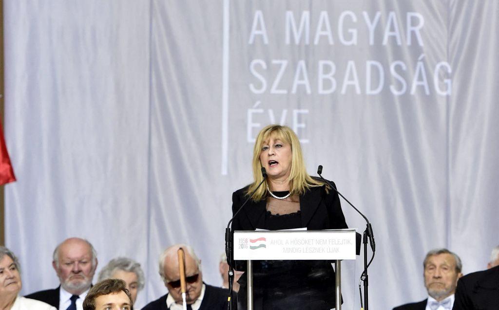 Schmidt Mária (kép: MTI / Máthé Zoltán)