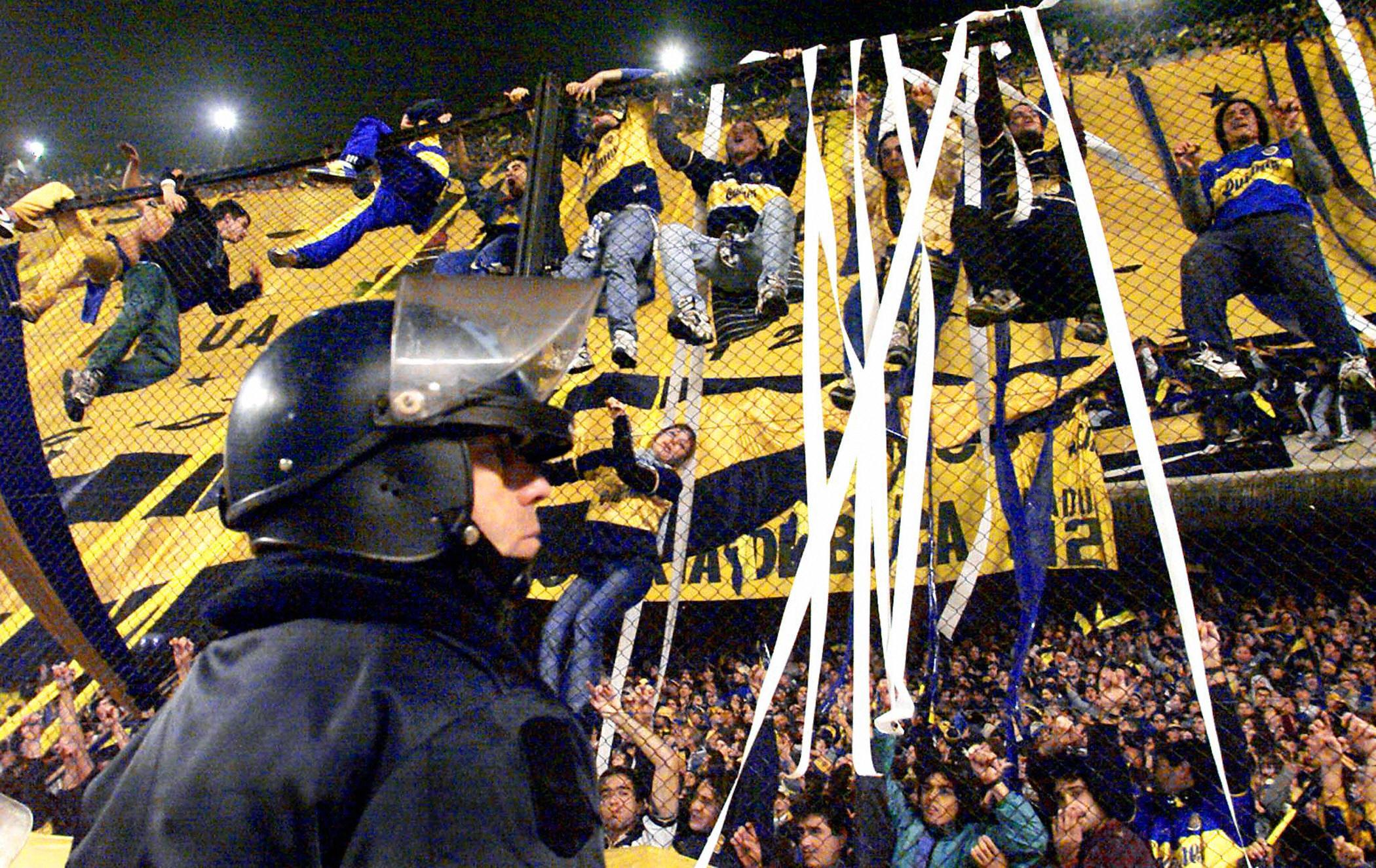 Argentin ultrák / Fotó: Sofoot.com