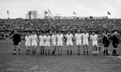 A Fradi aranycsapata, 1949-ből / Forrás: Fortepan.hu