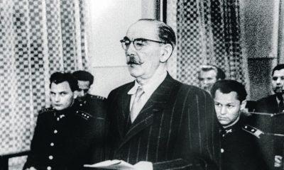Nagy Imre a tárgyaláson / Forrás: Magyaridok.hu