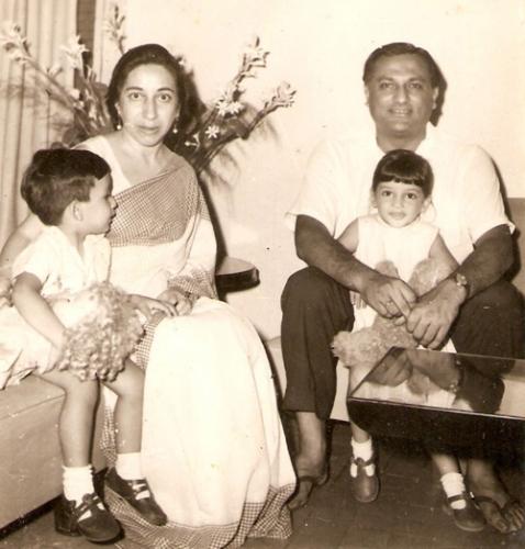 Rahman és családja / Forrás: Discovermyindia.eu