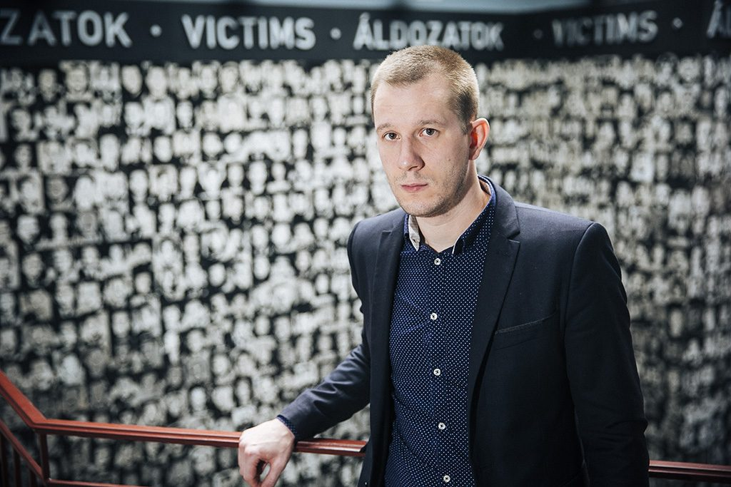 Békés Márton Terror Háza Múzeum kutatási igazgatója (kép: PestiSrácok.hu / Horváth Péter Gyula)