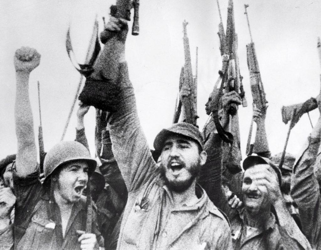 A kubai forradalmárok győzelme 1959-ben (fotó: pinterest.com)