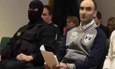 Ahmed H. az elsőfokú ítélet szerint 10 év börtönbüntetést kapott (Fotó: MTI)