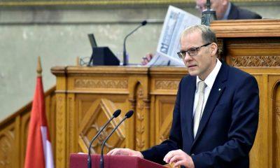 Budapest, 2016. december 7. Darák Péter, a Kúria elnöke ismerteti a bírósági szervezet 2015-ös beszámolóját az Országgyûlés plenáris ülésén 2016. december 7-én. MTI Fotó: Máthé Zoltán
