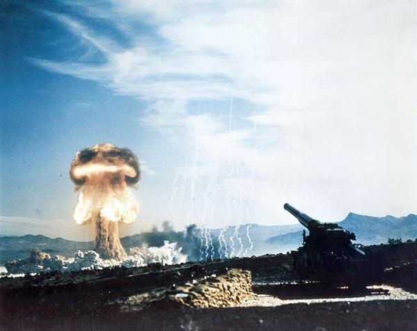 Egy másik hidegháborús eszköz: Atomic Annie / Forrás: Motherjones.com