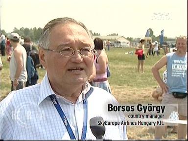 Borsos nyilatkozik / Forrás: Nava.hu