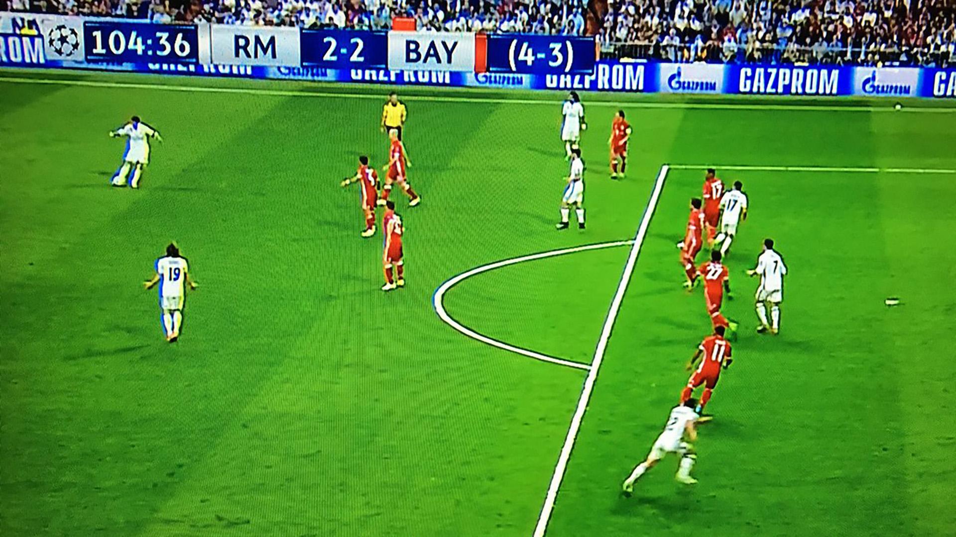 Első les / Forrás: Goal.com