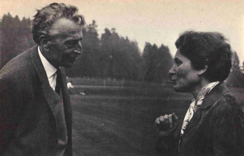 A vörös báró Sztálin lányával Svájcban / Fotó: Sept.info