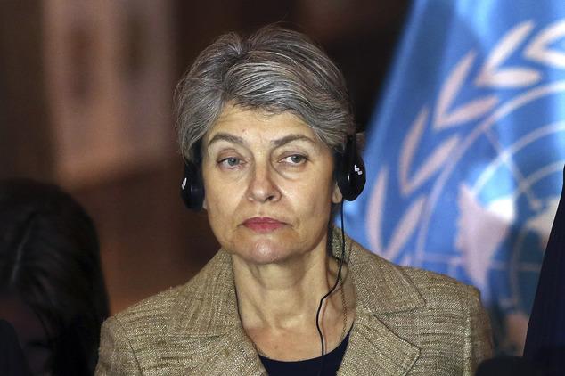 Bokova elvtársnő már européer hölgyként / Fotó: Dailymail.co.uk