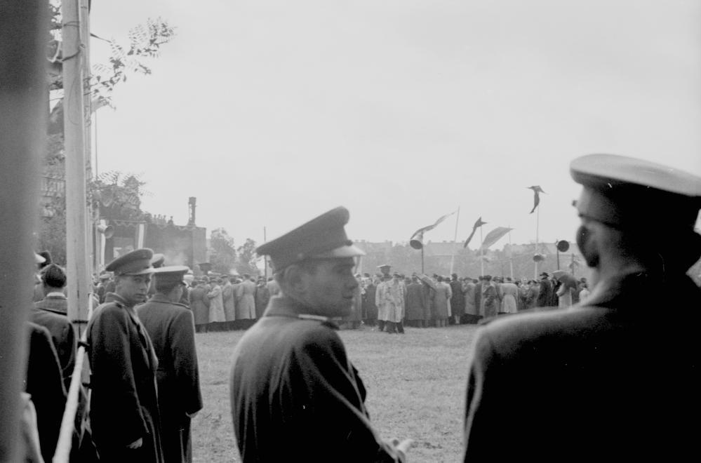 Pálffy, Rajk és a társaik 1956-os újratemetése / Fotó: Fortepan.hu