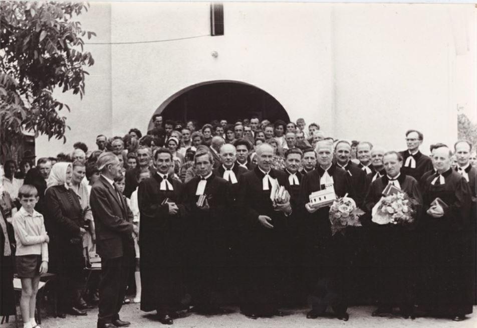 A magyarkeresztúri templom szentelése / Fotó: Vadosfaluteran.hu
