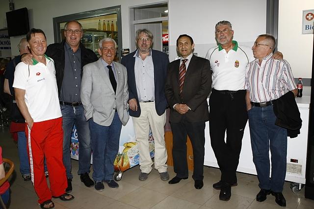 Amikor még minden rendben volt (balról második Wladár, mellette Kiss László, Hargitay András és Gyárfás) / Fotó: Hirtukor.hu