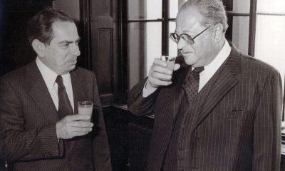 Lendvai és Kreisky osztrák politikus / Fotó: Lendvai.at