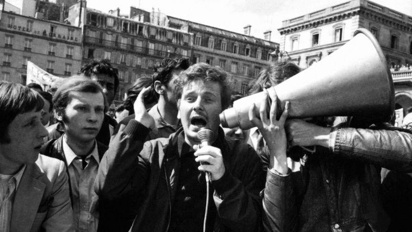 Daniel Cohn-Bendit és társai /Fotó: Etudiant.lefigaro.fr