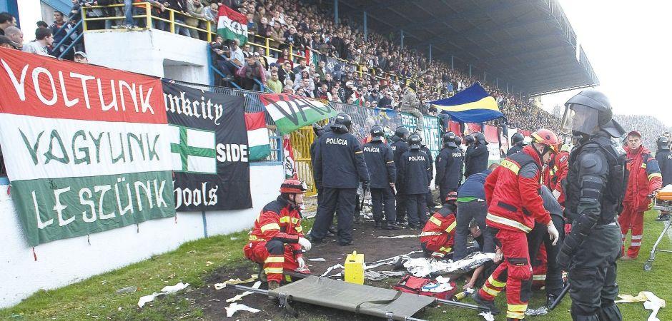 """""""Rendet tettek"""" /Fotó: Korkep.sk"""
