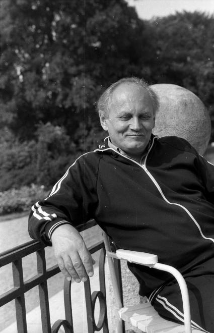 Göncz Árpád 1975-ben / Fotó: Fortepan.hu
