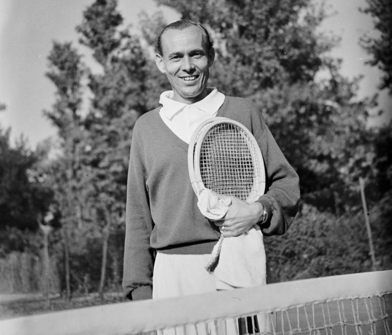 Asbóth József 1959-ben / Fotó: Fortepan.hu