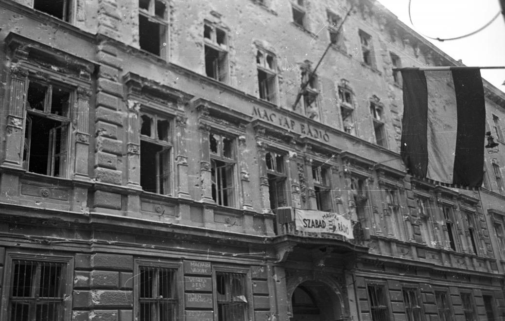 A Magyar Rádió épülete /Fotó: Fortepan.hu