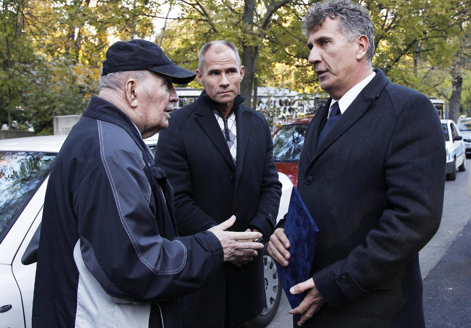 Vad Dezső (balra), jobbra Szabó Bence / Fotó: Olimpia.hu