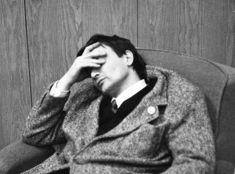 Demszky pihen? / Fotó: Fortepan.hu