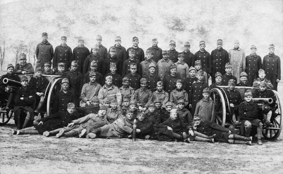 Magyar katonák / Fotó: Fortepan.hu