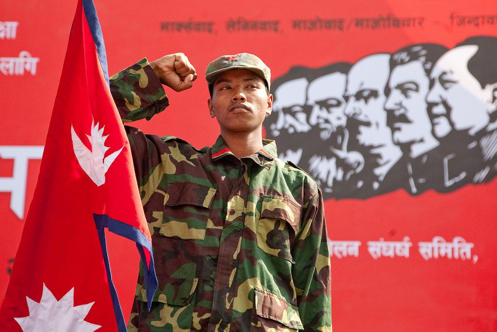 Maoizmus Nepálban / Fotó: Libcom.org