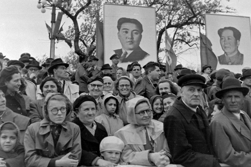 Maoisták előre / Fotó: Fortepan.hu