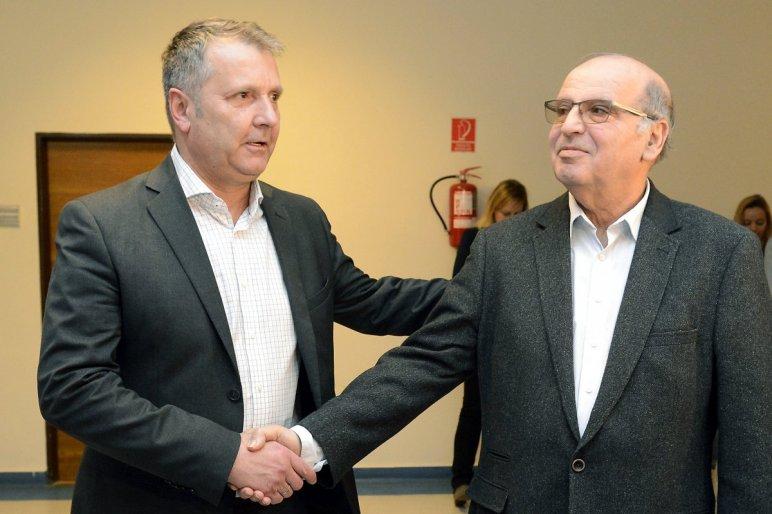 Molnár Gyula (MSZP) és Majtényi László / Fotó: MTI